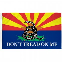 Arizona Don't Tread On Me 3'x 5' Pro SB 1070 Flag