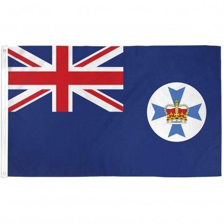 Queensland 3' x 5' Polyester Flag