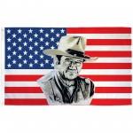 John Wayne USA 3' x 5' Polyester Flag