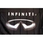Infiniti Logo Black Premium 3'x 5' Flag