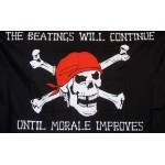 Pirate Morale 3'x 5' Pirate Flag