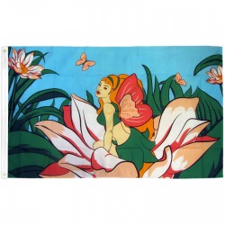 Fairy Premium 3'x 5' Flag