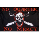 No Quarter, No Mercy 3'x 5' Pirate Flag