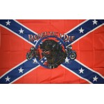 Rebel Til I Die Premium 3'x 5' Pirate Flag