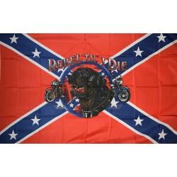 Rebel Til I Die Premium 3'x 5' Pirate Flag
