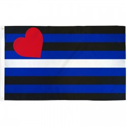 Leather Pride Premium 3'x 5' Flag