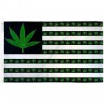 Marijuana USA 3' x 5' Polyester Flag