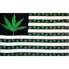 Marijuana USA 3' x 5' Polyester Flag
