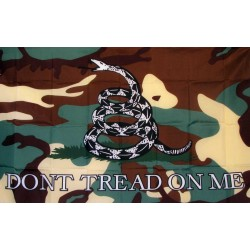 Don't Tread On Me Camo Premium 3'x 5' Flag