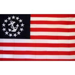 Yacht Ensign Premium 3'x 5' Flag
