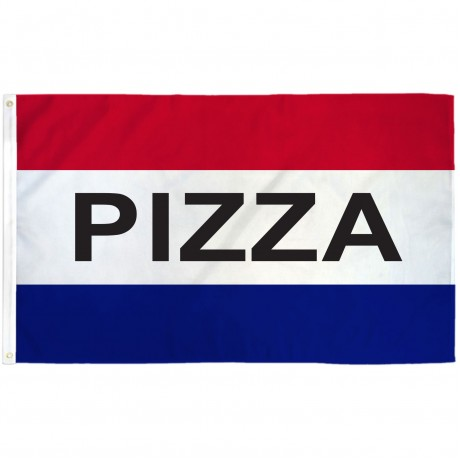 Pizza 3'x 5' Business Flag