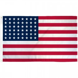 USA Historical 48 Star 3' x 5' Polyester Flag