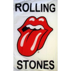 Rolling Stones Novelty Music 3'x 5' Flag