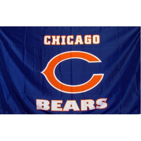 Chicago Bears Blue 3' x 5' Polyester Flag