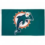 Miami Dolphins 3'x 5' Polyester Flag