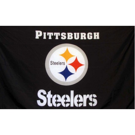Pittsburgh Steelers 3' x 5' Polyester Flag