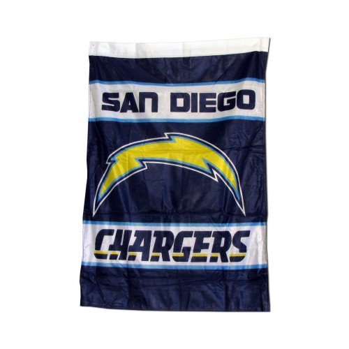 San Diego Chargers Banner: San Diego Chargers Outside House Banner (F-1373)