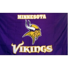 Minnesota Vikings 3'x 5' NFL Flag