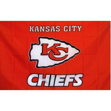 Kansas City Chiefs 3'x 5' NFL Flag