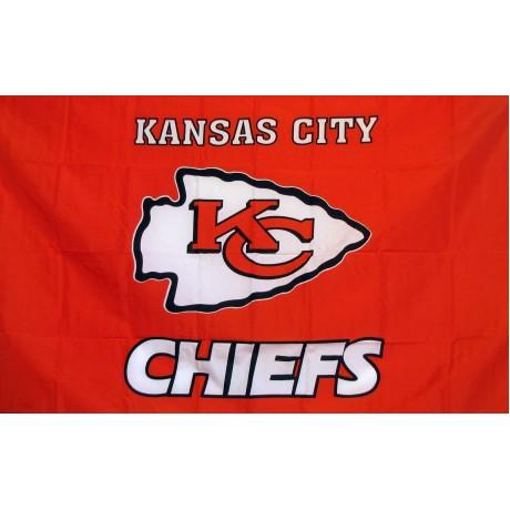 Kansas City Chiefs 3' x 5' Polyester Flag