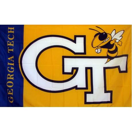 Georgia Tech Yellow Jackets 3'x 5' College Flag
