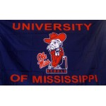 Mississippi Ole Miss Gentleman 3'x 5' College Flag