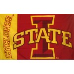 Iowa State Cyclones 3'x 5' College Flag