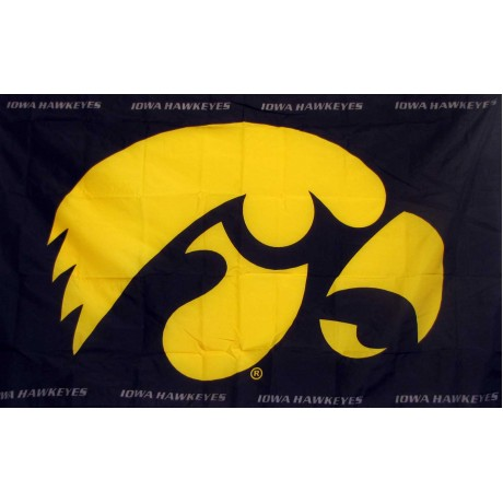 Iowa Hawkeyes 3'x 5' College Flag