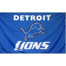 Detroit Lions 3'x 5' NFL Flag