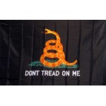 Don't Tread On Me With Premium 3'x 5' Flag