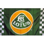 Lotus Automotive Checkered 3x5 Flag