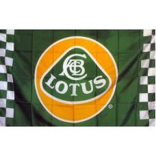 Lotus Automotive Checkered 3x5 Flag