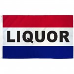 Liquor Patriotic 3' x 5' Polyester Flag