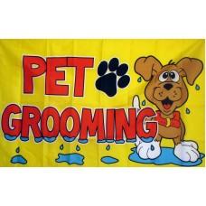 Pet Grooming 3'x 5' Advertising Flag