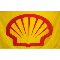 Shell Oil 3'x 5' Flag