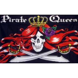 Pirate Queen 3'x 5' Flag