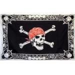 Skull and Cross Bones 3'x 5' Pirate Flag