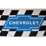Chevrolet Checkered 3' x 5' Automotive Flag