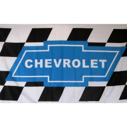 Chevrolet Checkered 3' x 5' Polyester Flag
