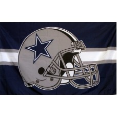 Dallas Cowboys 3'x 5' Flag Helmet Flag