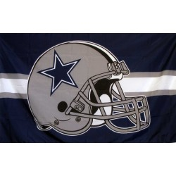 Dallas Cowboys Helmet 3' x 5' Polyester Flag