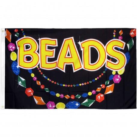 Beads 3'x 5' Advertising Flag