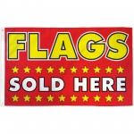 Flags Sold Here 3' x 5' Polyester Flag