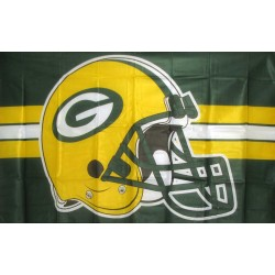 Green Bay Packers Helmet 3' x 5' Polyester Flag