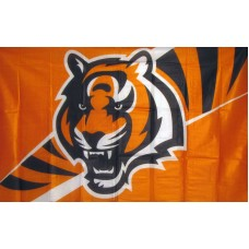 Cincinnati Bengals Stripes 3'x 5' NFL Flag