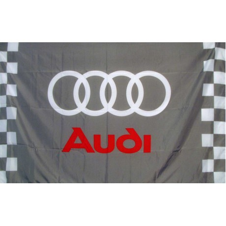 Audi Checkered Automotive 3' x 5' Flag