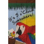 5 O'Clock Somewhere 2'x 3' Banner