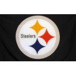 Pittsburgh Steelers Logo 3' x 5' Polyester Flag