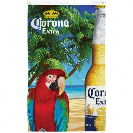 Corona Parrot Vertical 3' x 5' Flag