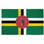 Dominica 3' x 5' Polyester Flag